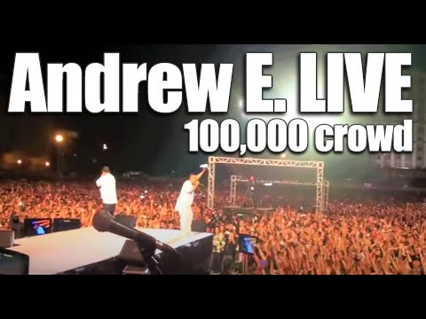 Andrew E. and JawTee Live at MOA Concert Grounds (100,000+ people)