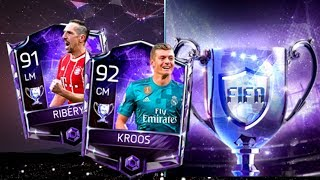 FIFA Mobile 18 Euro Stars Pack Opening! Huge Euro Stars Player Pull!