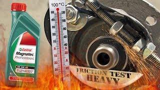 Castrol Magnatec Professional 5W40 Jak skutecznie olej chroni silnik? 100°C