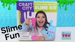 Baixar Lets Make Slime With Karina Garcia Craft City Slime Kit Toy Review | PSToyReviews