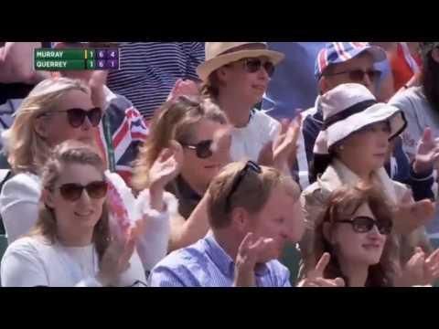 Sam Querry beats Andy Murray at wimbledon quarterfinal 2017