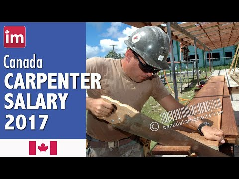 Carpenter Salary in Canada | Jobs in Canada (2017)