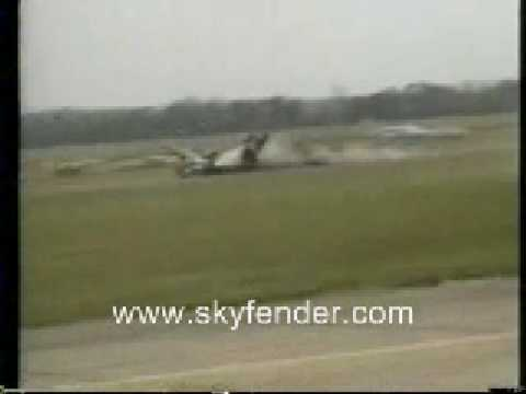 P-38 Lightning Crash at Duxford Airshow