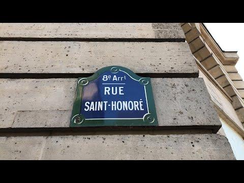 Rue Saint Honoré em Paris