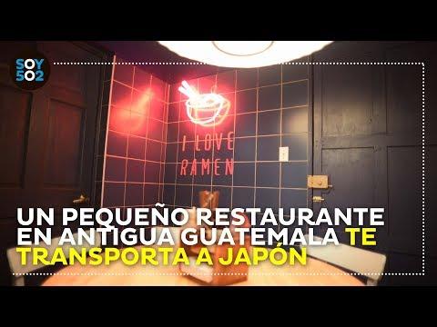 Un Pequeño Restaurante En Antigua Guatemala Te Transporta A Japón