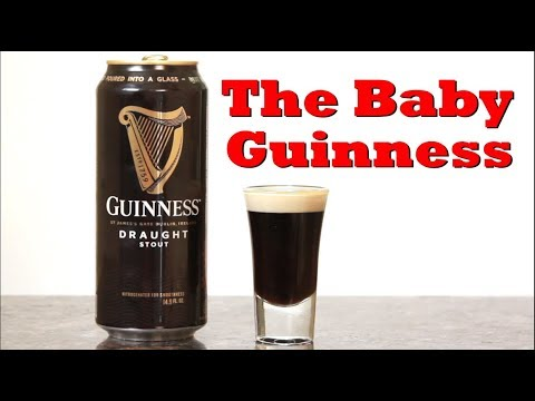 How To Make A Baby Guinness | Drinks Made Easy