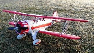 ROCHOBBY WACO BI-PLANE RC AIRPLANE FLY BY AND P-51 MUSTANG