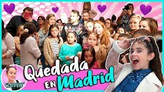 ¡¡QUEDADA en MADRID!! 💜 ¡¡CLODETT hace su PRIMERA QUEDADA CLODETTAMI con FANS!!