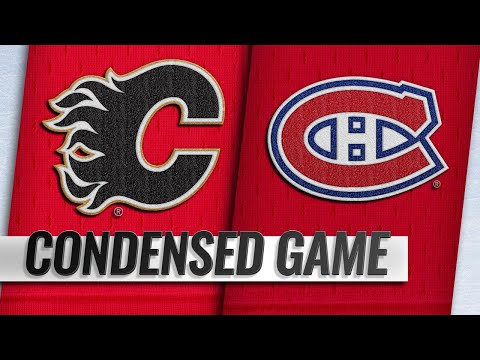 10/23/18 Condensed Game: Flames @ Canadiens