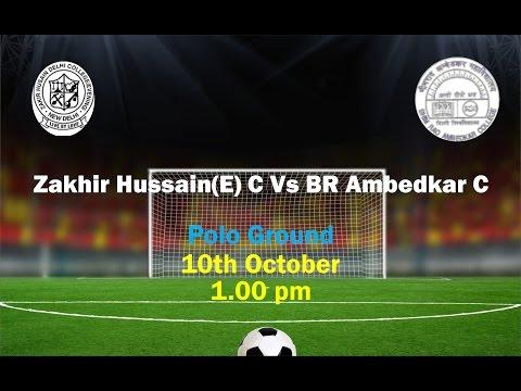 Zakir Hussain (E) vs B R Ambedkar college