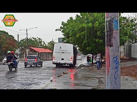 Managua Nicaragua sumergida en el invierno