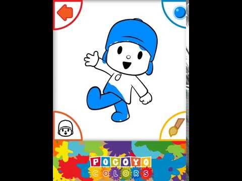 Pocoyo Colors Free Android Apps On Google Play Colors App