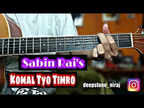 Komal Tyo Timro- Sabin Rai Guitar Lesson