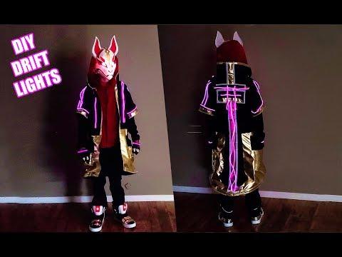 DIY Fortnite DRIFT Costume Lights