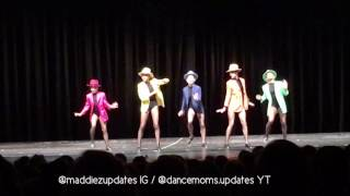 "Maddie & Kenzie Ziegler unaired tap dance ""Feet Don't Fail Me Now"""
