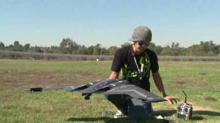B-2 Spirit!  Stealth Bomber RC JET Flight Review in HD! Twin EDF RTF B-2!  bananahobby.com!