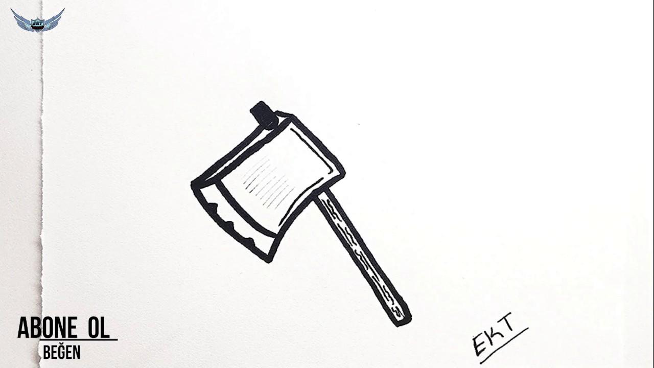 Balta Çizimi Nasıl Çizilir ? - Kolay Resim Çizme