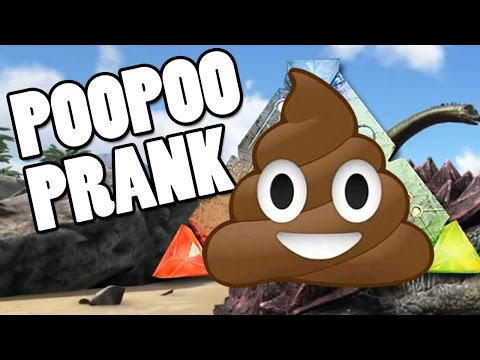 ARK Survival Evolved Gameplay - POOPOO PRANK (Live Stream) - Online Part 7 | Pungence
