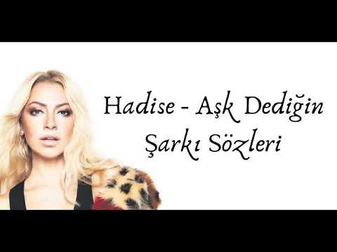 Hadise Ask Dedigin Ki 3gp Mp4 Mp3 Flv Indir