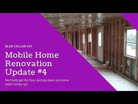 Mobile Home Renovation – Part 4