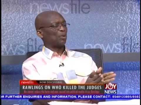 Kweku Baako's Opinion on Who Killed the Judges - Newsfile on JoyNews (13-10-18)