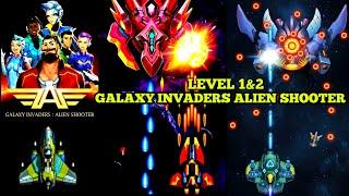 Galaxy Invaders Alien Shooter 2020 Gameplay   LEVEL 1 & 2 screenshot 1