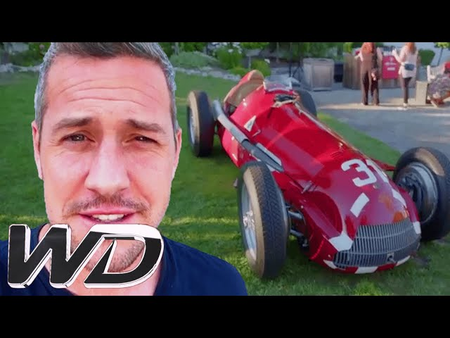 Ant Attends A VIP Alfa Romeo Party At Monterey Car Week | Ant Anstead Master Mechanic
