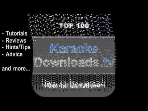 Karaoke Downloads . tv Ad