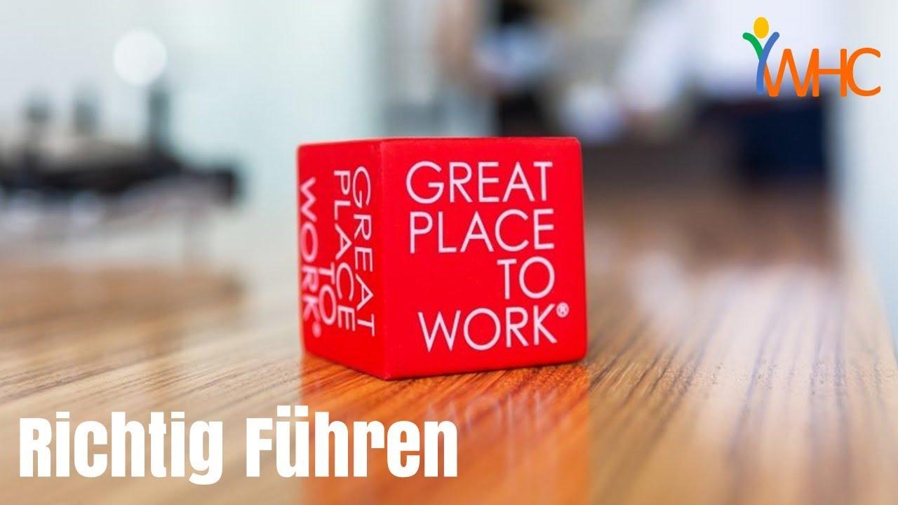 """Wer gestaltet den """"Great Place to Work""""?"""