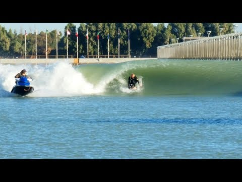 KELLY SLATER WAVE POOL RAW CLIPS
