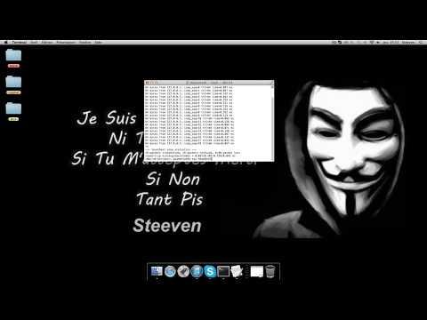 Comment DDos Sur Mac