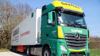 GARTNER KG Mercedes Benz Actros MP4 - Lkw-Video Lkw-Thorsten TV