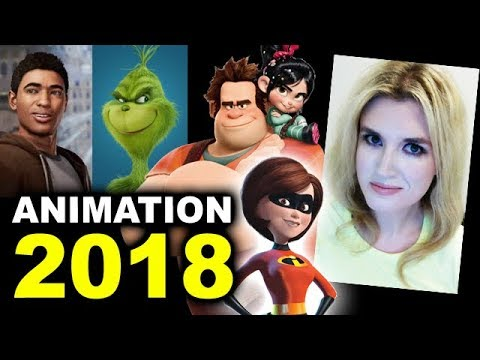 Thumbnail: Animated Movies 2018 - The Incredibles 2, The Grinch, Wreck It Ralph 2, Miles Morales Spider-Man