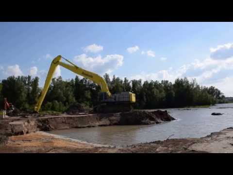 Hitachi ZX 870-3 STC Longreach excavator, Boskalis
