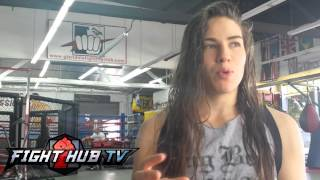 Marina Shafir says in a year & a half, shes ready for Cyborg; talks pro debut on April 12th