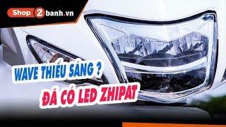 Đèn LED 2 tầng cho Wave Alpha, S, RS, RSX, Future X. Chính hãng Zhipat. Bảo hành 12 tháng