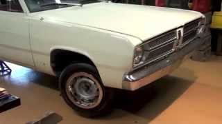Original 1967 Plymouth Valiant Update Video
