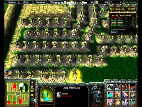 скачать карту Shango Tower Wars для Warcraft 3 img-1