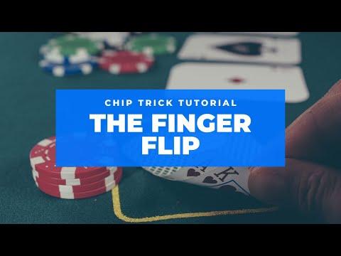 poker Chip Tricks - Tutorial 4 - The Finger Flip