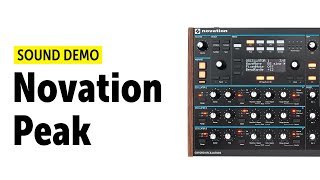 NOVATION PEAK Demo (no talking)