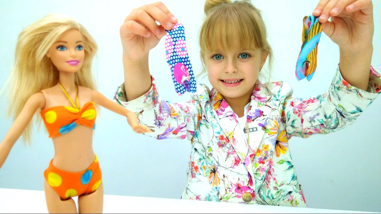 Барби выбирает купальник - Приключения Барби - Мультики ...