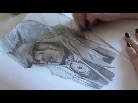 Speed Drawing: Ratohnhaké Ton From AC3