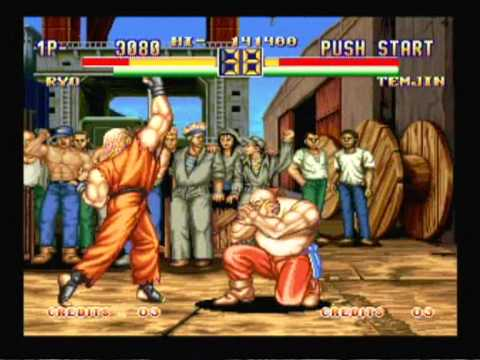 Art Of Fighting 2 Gameplay Youtube