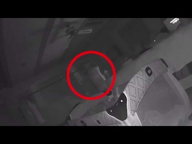 Padres aseguran que un fantasma ataca a su bebé y tienen un video que lo demuestra