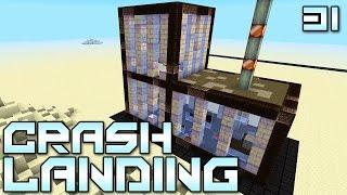 "Minecraft Crash Landing 31 - ""Secret Presidential Bunker!!!"" (Modded Minecraft)"