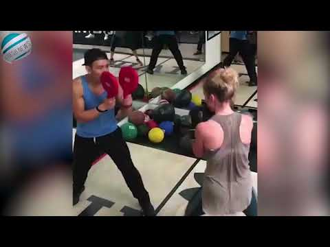 Australian actress Rachael Taylor shares video of her boxing training  Breaking !
