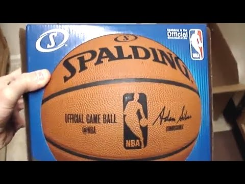 Unboxing Official Spalding NBA Basketball