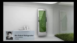 Electrolux Design Lab 2010 Finalist: Bio Robot Refrigerator by Yuriy Dmitriev, Russia