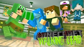 Minecraft THE WALKING DEAD - LITTLE LIZARD AND TINY TURTLE ARE ZOMBIES ???