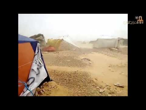 شاهد/ فيديو   هكذا يصمد معتصمو الكامور أمام قساوة الصحراء..